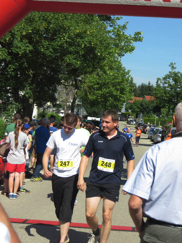 Traditional charity run